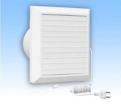 Вентилятор HARDI 150 (механические жалюзи + провод), фото 2
