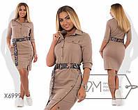 Красивое женское платье в больших размерах у-t151593