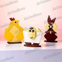 Пластиковая форма для шоколадных скульптур MARTELLATO 20OR001