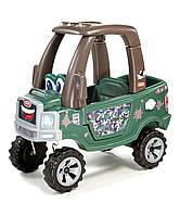 Самоходная машинка – внедорожник Little Tikes - США - оснащена багажником для игрушек и необходимых вещей