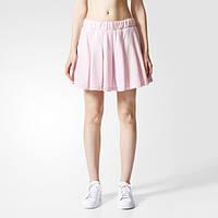 Плиссированная юбка женская Adidas 3-Stripes Skirt BJ8176 - 2017/2