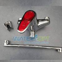 Смеситель для ванной CRON Magic 006 Red, фото 1