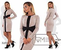 Стильное женское платье большого размера н-t1515100
