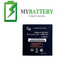 Оригинальный аккумулятор АКБ батарея Fly BL4247 IQ442 1350 mAh