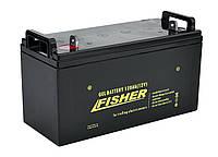 Гелевый аккумулятор 120Ah Fisher 12B, фото 1