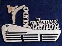 Заготовка. Медальница КУДО. KUDO. Тримач для медалей. Холдер для медалей з фанери