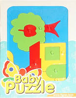 Развивающая игрушка Домик Baby puzzles, Wader (39340-2)