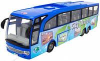 Туристический автобус Экскурсия по городу, 33 см (синий), Dickie Toys (374 5005-2)