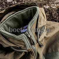 Толстовка флисовая с капюшоном (ANTITERROR) Coyote, фото 6