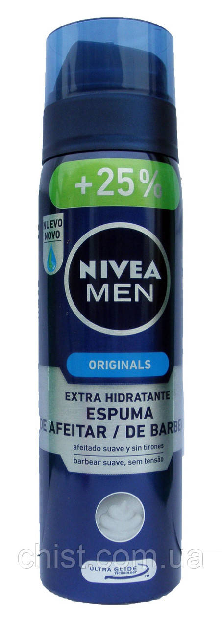 "Nivea for Men,Пена для бритья (250 мл) Германия - ""Идеал Чист"" в Одессе"