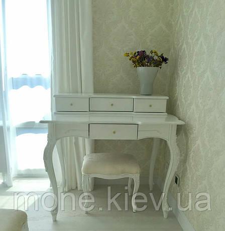 Туалетные столик в спальню №8 из массива в классическом стиле, фото 2