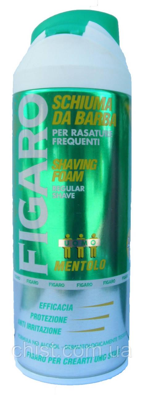 "MILMIL Figaro Shaving Foam,Пена для бритья ""Ментол""(400 мл) Италия"