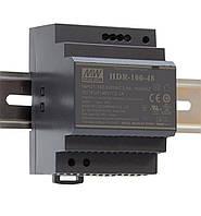 Блок питания Mean Well HDR-100-12 На DIN-рейку 85,2 Вт; 12 В; 7,1 А (AC/DC Преобразователь)