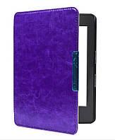 Обложка - чехол для электронной книги Amazon Kindle Paperwhite 1, 2, 3 E-reader фиолетовая