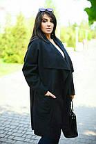 Пальто  БАТАЛ кашемир в расцветках  20950, фото 3