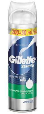 Gillette Series CONDITIONING, Пена для бритья (250 мл)