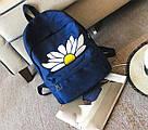 Рюкзак для девочки с ромашкой., фото 3