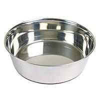 Trixiе (Трикси) Миска металлическая с прорезиненным основанием для собак, 1.7л/ø21см