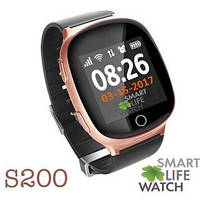 Детские умные часы Owly Smart Baby Watch S200 Pink/Bronze