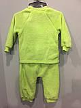 Махровый костюм с шапкой для малыша, фото 6