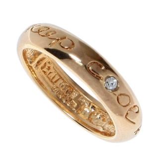 """Кольцо """"Кипкул"""" с кристаллами Swarovski, покрытое золотом (m257p000)"""