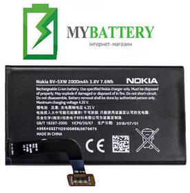 Оригинальный аккумулятор АКБ батарея Nokia BV-5XW для Nokia Lumia 909 1020