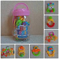 Набор погремушек в колбе   «Baby Toys»