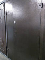 """Двері металеві """"Офіс титан"""" 1200мм (мідь з 2-х сторін) праві ПП"""