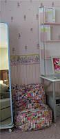 Зеркало на колесиках в детскую разных цветов, Китай.