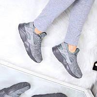 Кроссовки женские Nike Huarache серые 3559 , обувь дропшиппинг