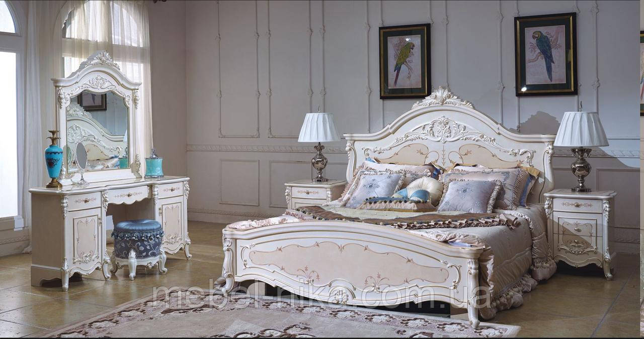Спальня белая Екатерина CF 8730 АКЦИЯ за комлект