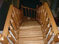 Лестница 24 из массива