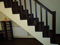 Лестница 25 из массива