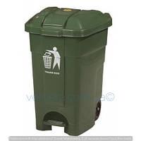 Бак 70 литров для мусора пластиковый