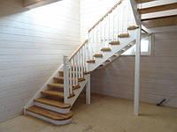 Лестница 28 из массива