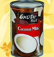 Молоко Кокосовое, Exotic Food, 400мл, 18%, Ме