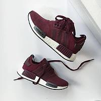 """Кроссовки Adidas NMD R1 W """"Bordeaux"""" женские"""