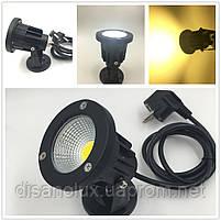 Светильник ландшафтный OL-04  Base COB  LED 5W  230V  IP65 4000К   белый, фото 3