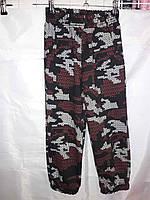 Подростковые спортивные штаны Военка 116-140 см
