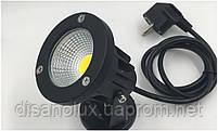 Светильник ландшафтный OL-04  Base COB  LED 5W  230V  IP65 4000К   белый, фото 2