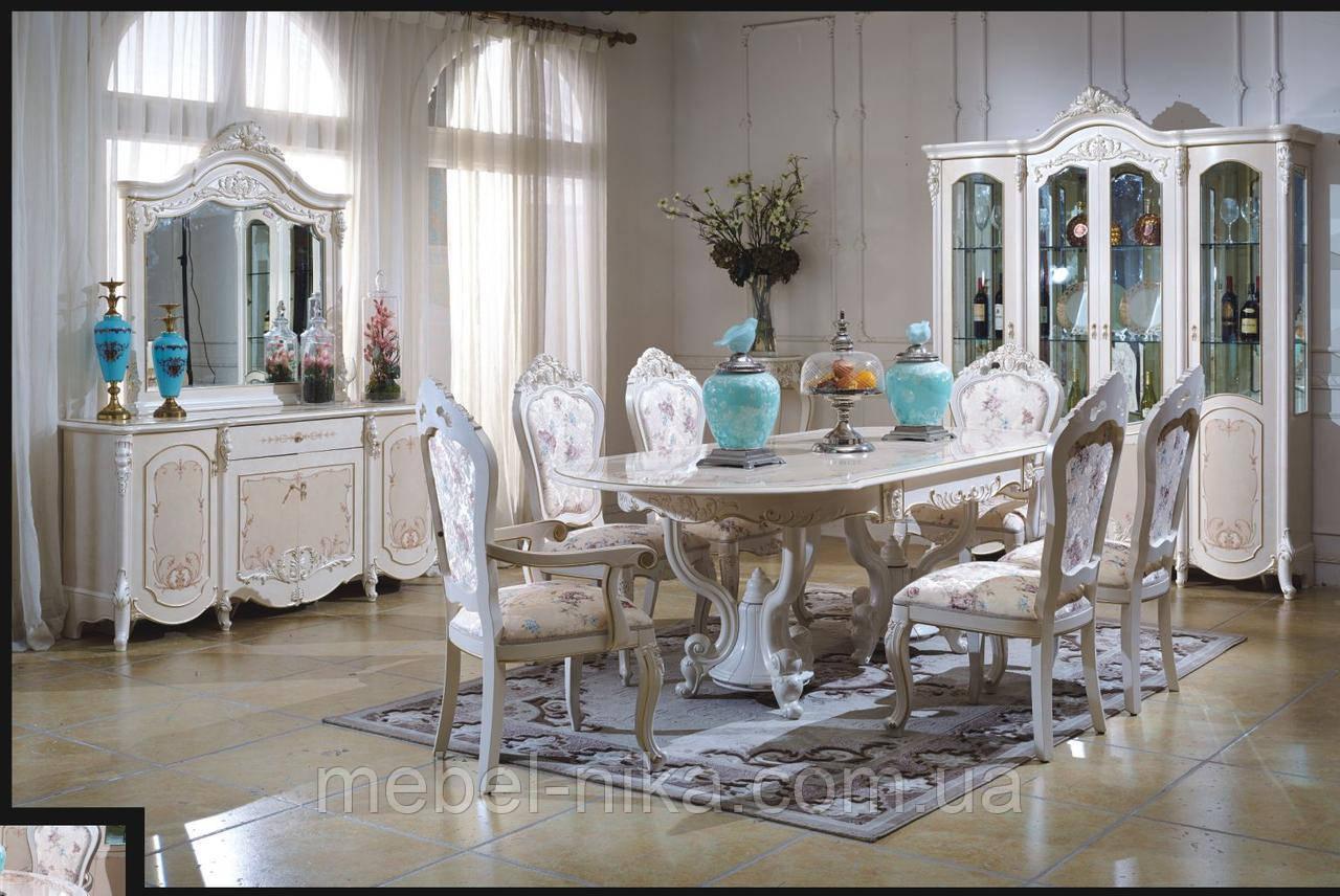 Стол обеденный белый CF 8730 1800*2400