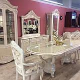 Стол обеденный белый CF 8730 1800*2400, фото 3