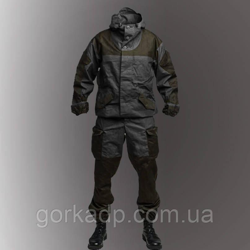 Костюм Горка 3 темная олива на черной основе