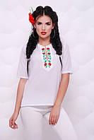 Блуза шифоновая Alice BZ-1507A, вышиванка, фото 1