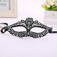 Женская маска для карнавала кружево