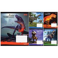 """Тетрадь 12 листов/линия 680056 """"Dinosaur"""", 25 шт. в упаковке (Y)"""