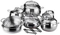 Сковородки, кастрюли, чайники ...