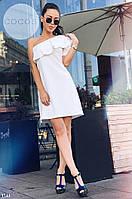 Летнее платье с воланом на плече, фото 1