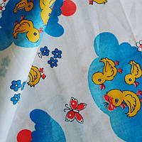 Ситцевая пеленка 100×90