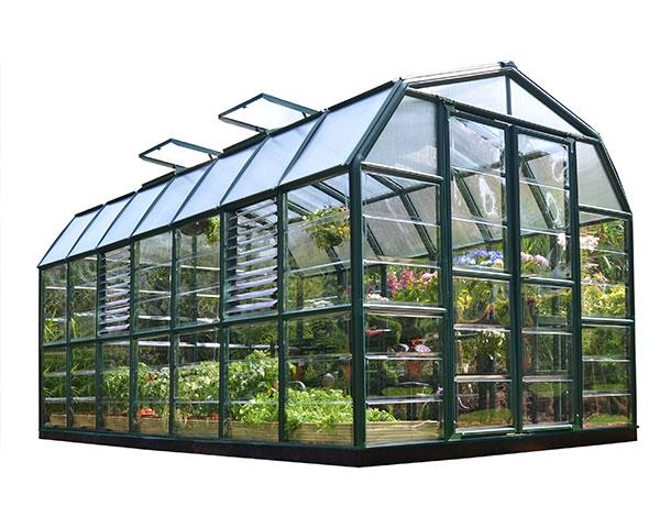 Теплица Rion Prestige 8×16 Clear Greenhouse
